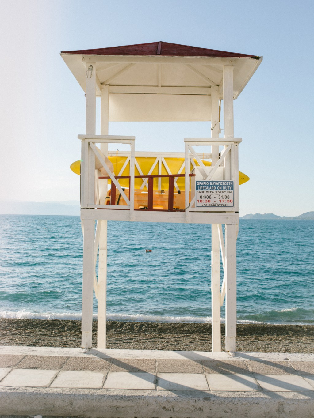 BENJAMIN MARKSTEIN There is a little bit of yellow in Greece